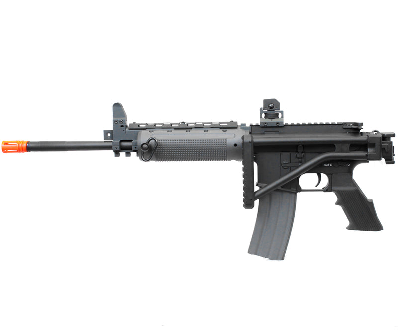A&K Full Metal LR-300 Airsoft Gun M4 AEG with Folding Stock