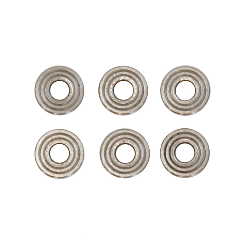JBU Stainless Steel 6mm Bushings Set for AEG Gearboxes