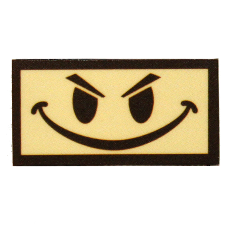 King Arms Funny Grin Velcro Patch