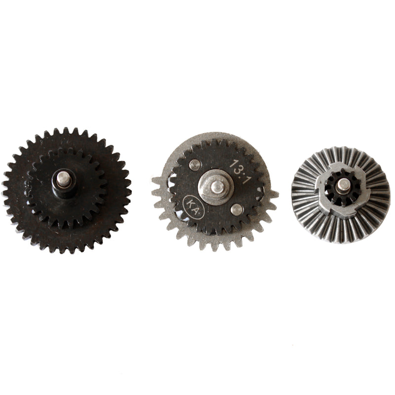 King Arms Steel 13:1 Ratio Ultra High Speed Flat Gear Set