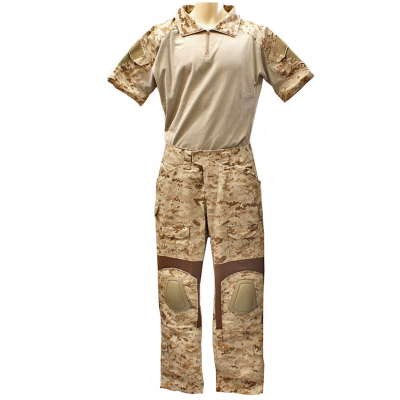 Lancer Tactical Gen2 Combat Shirt & Pants Set - LG / Desert Digital