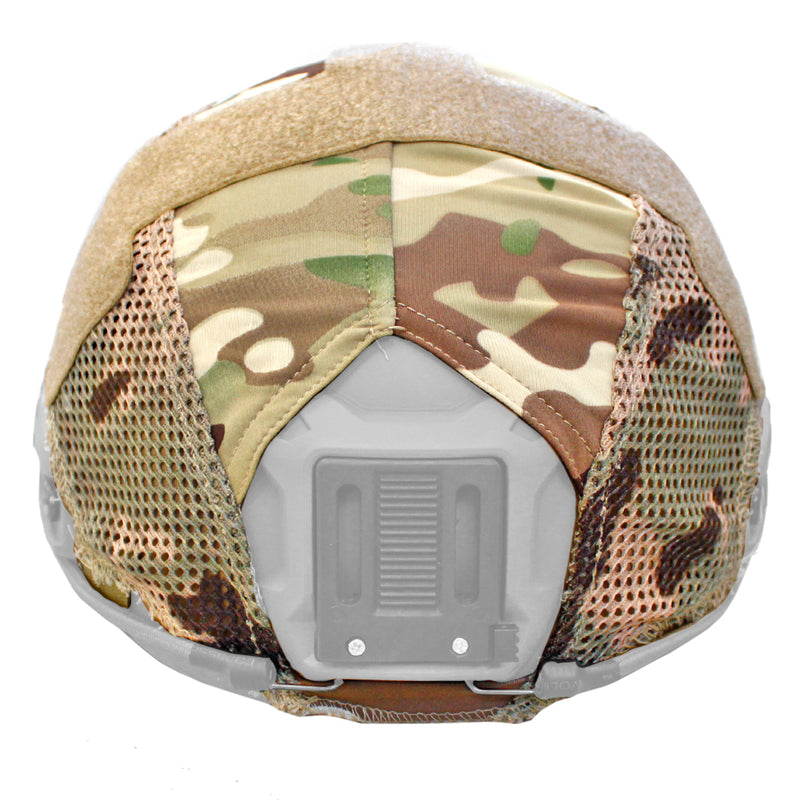 Lancer Tactical FAST Airsoft Tactical Helmet Cover - Multicam