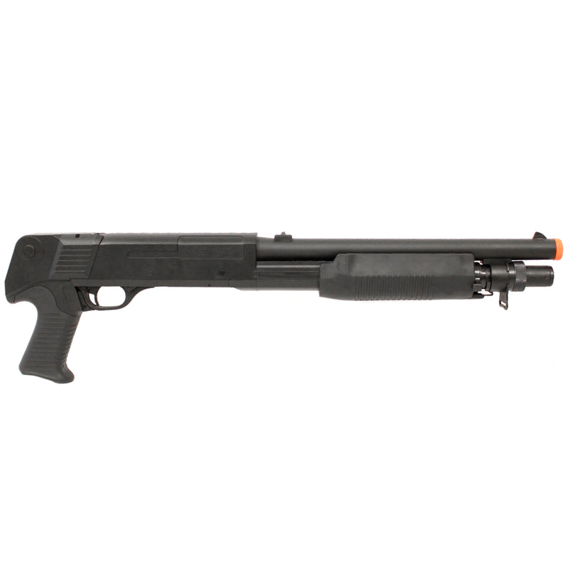 Double Eagle Tri-Shot Spring Action Pistol Grip Shotgun Airsoft Gun