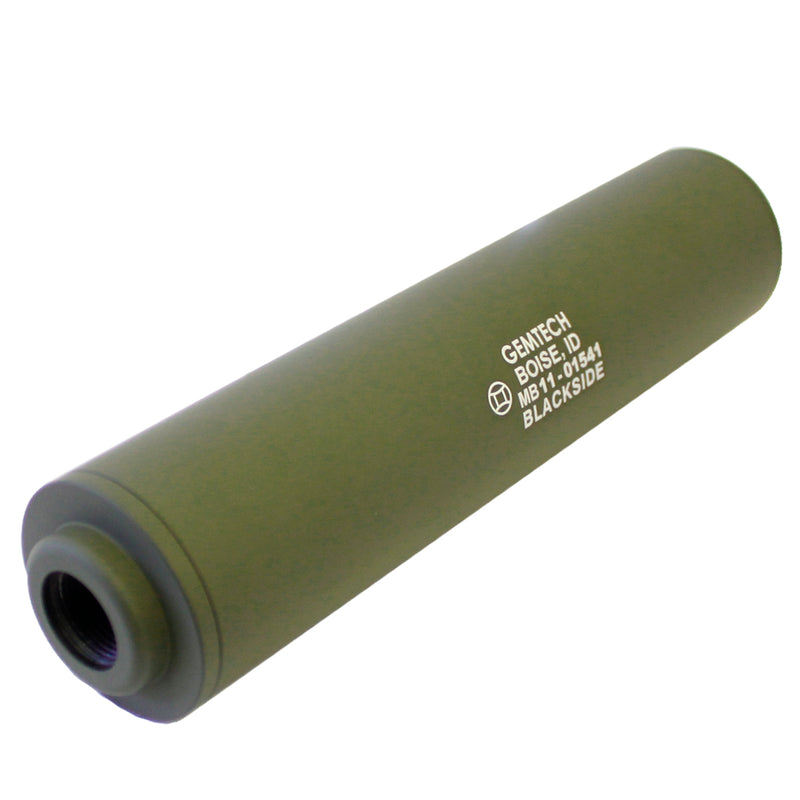 Madbull Airsoft Gemtech Blackside Silencer Barrel Extension - OD Green