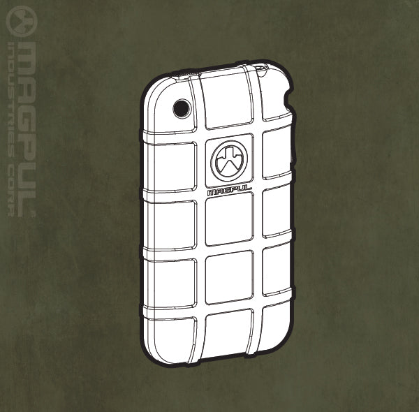 Magpul USA Field Case for iPhone 3G/3GS Flat Dark Earth FDE