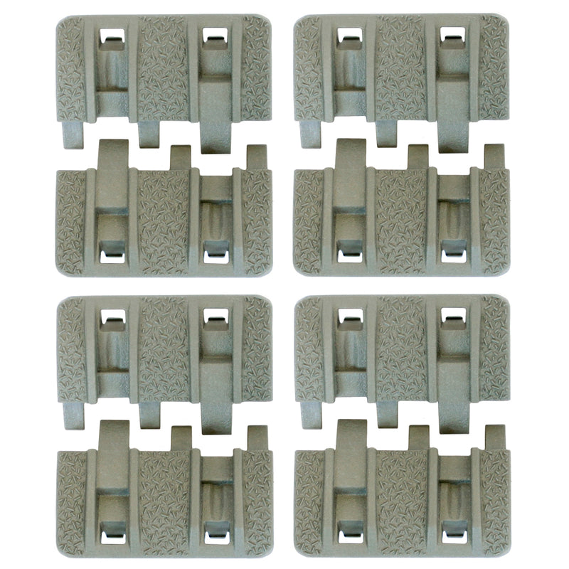 Magpul USA XTM Enhanced Modular Tactical Rail Panel Set - Foliage