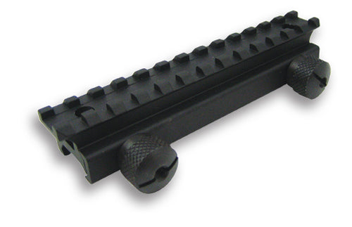 NcSTAR Full Steel Riser Mount for Flat Top Picatinny Rail Airsoft Guns
