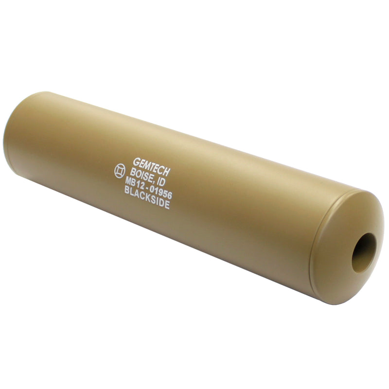 Madbull Airsoft Gemtech Blackside Silencer Barrel Extension - Tan