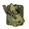 Airsoft MOLLE Cross Draw Tactical Pistol Holster Right Hand