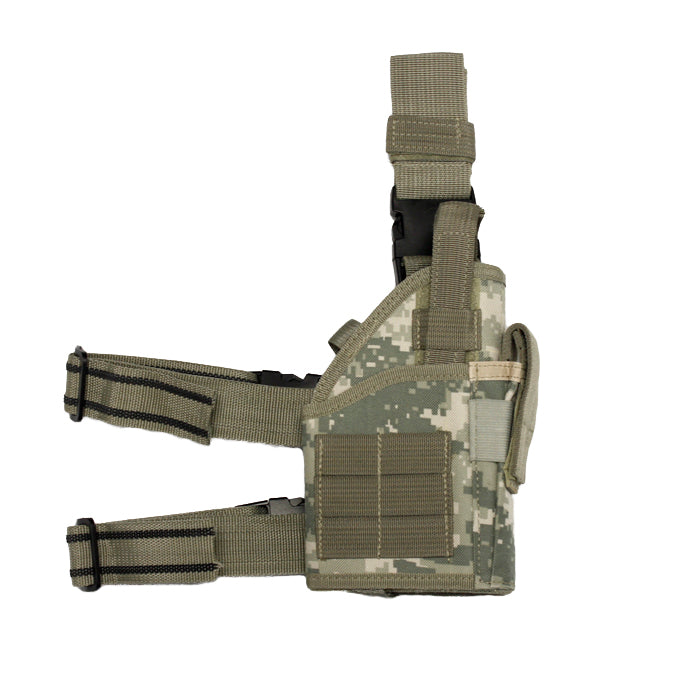 Airsoft Tactical Leg Holster with Web Straps ACU Digital Camouflage