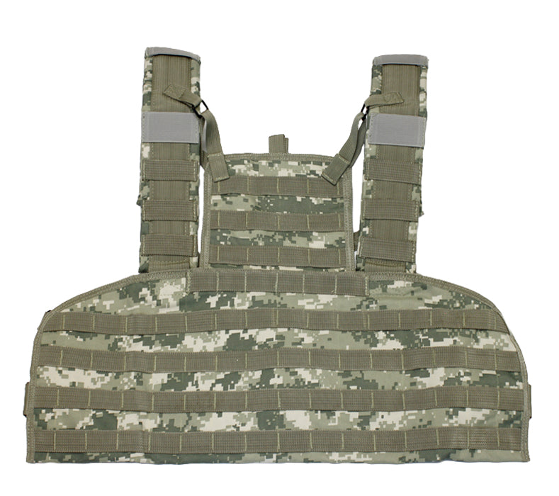 Airsoft MOLLE Tactical Chest Rig ACU Digital Camouflage