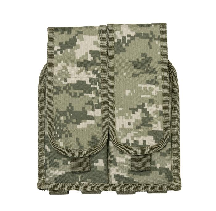 Airsoft MOLLE Universal Double Rifle Magazine Pouch
