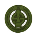 ICS King Rubber PVC Velcro Patch