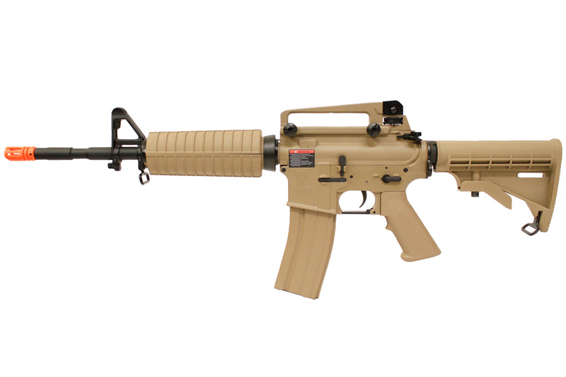 G&G Top Tech TR16 Full Metal Airsoft Electric Blow Back M4 AEG – Tan