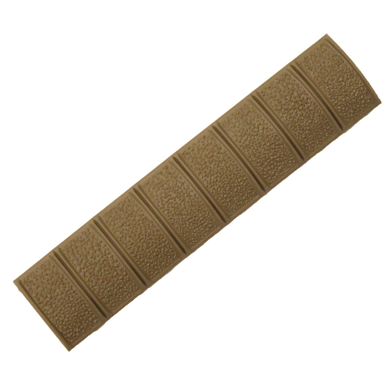 Magpul PTS XT Textured Rail Cover Panel for RIS Airsoft Guns - FDE