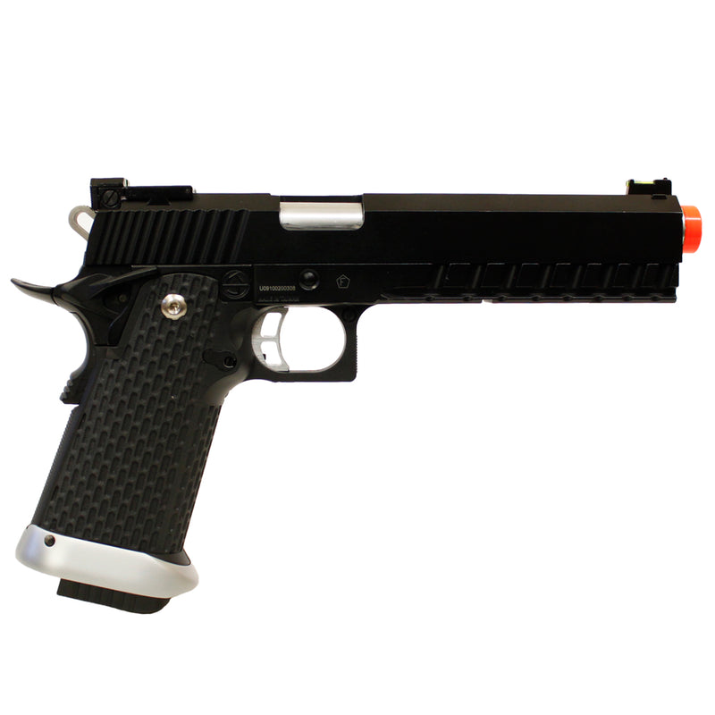 KJW Metal Colt 2009 Rail Concept 1911 Co2 Gas Blow Back Airsoft Pistol