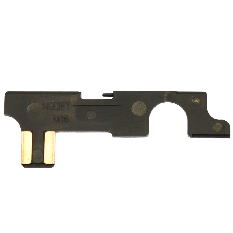 Modify Heat Resistant Selector Plate for AEG M4 / M16 Airsoft Guns