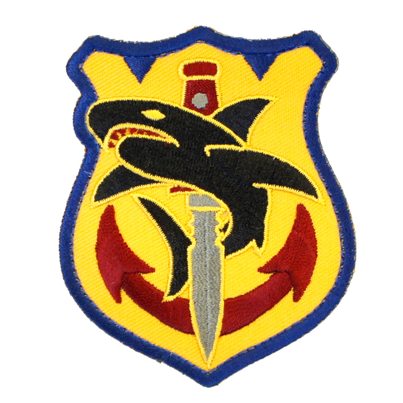 Mil-Spec Monkey Tactical Shark Velcro Patch - Full Color