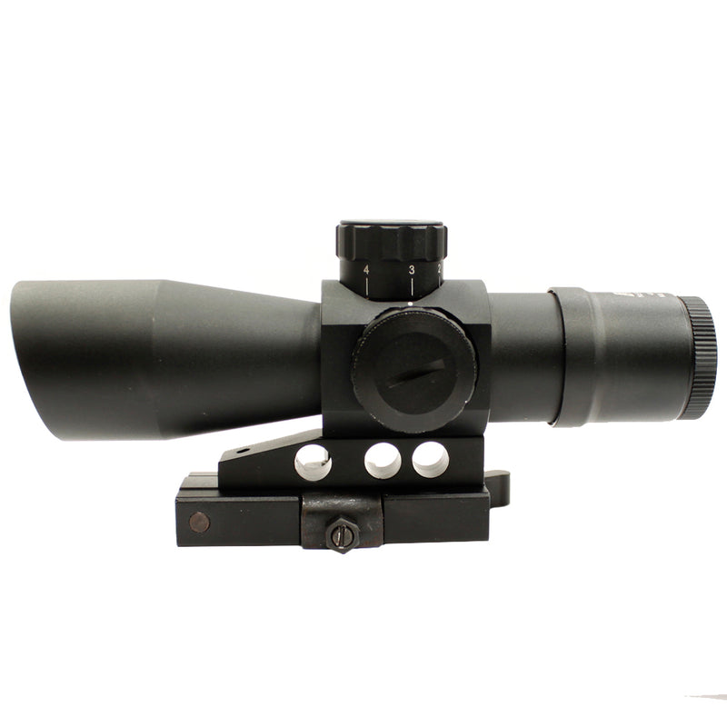 NcSTAR Gen 2 Mark III 4x32 Compact Mil-Dot Sniper Scope with QD Mount