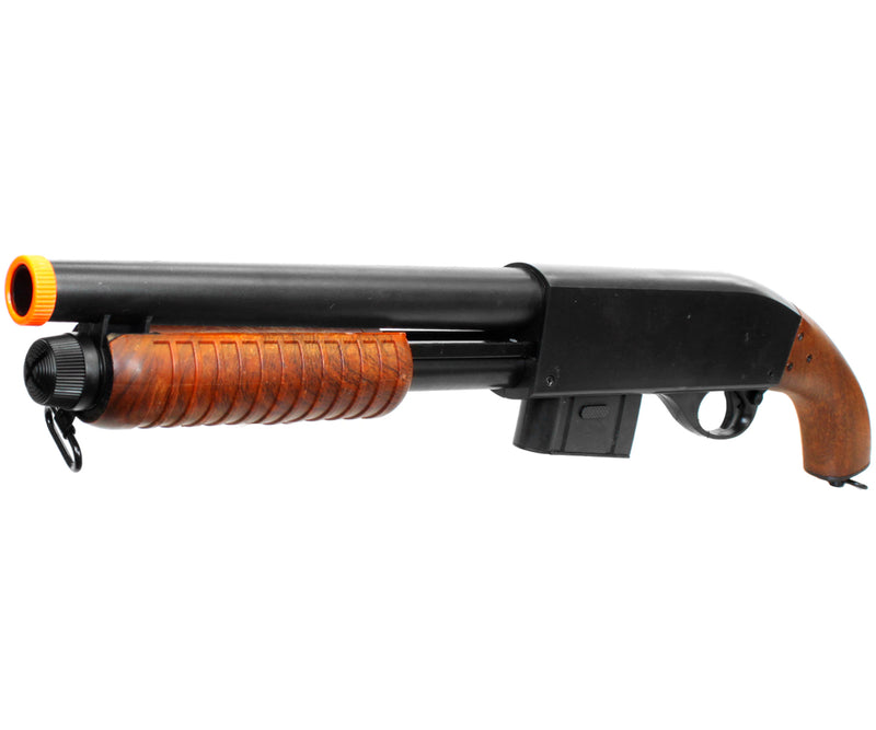 UKARMS Sawed-Off Pistol Grip Spring Airsoft Shotgun - Fake Wood