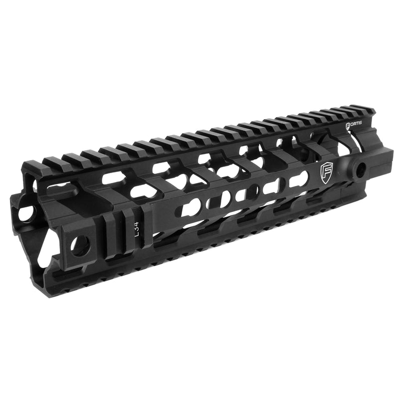 "PTS Fortis 9"" REV Free Float Keymod Rail System - Black"