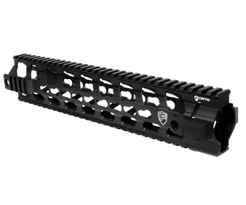 "PTS Fortis 12"" REV Free Float Keymod Rail System - Black"
