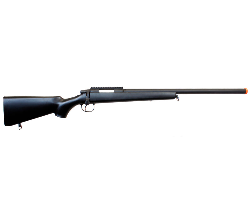TSD SD700 Spring Powered Bolt Action Airsoft Sniper Rifle - Black