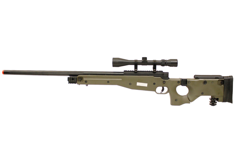 TSD L96 AWP Sniper Rifle Bolt Action Airsoft Gun OD Green with Scope