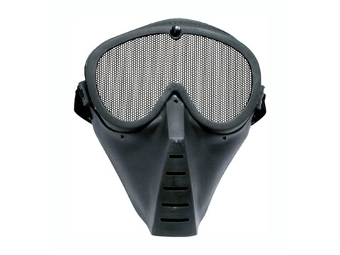 TSD  Tactical Rubber Mesh Face Mask for Airsoft Only
