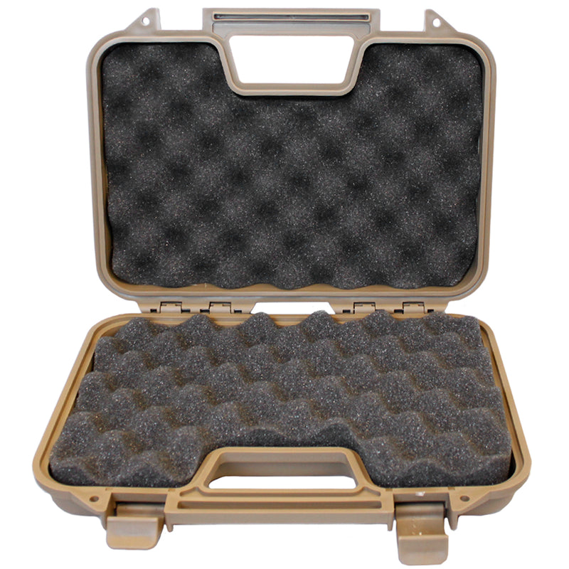 "SRC 11.5"" Tactical Hard Shell Pistol Case with Foam Lining"