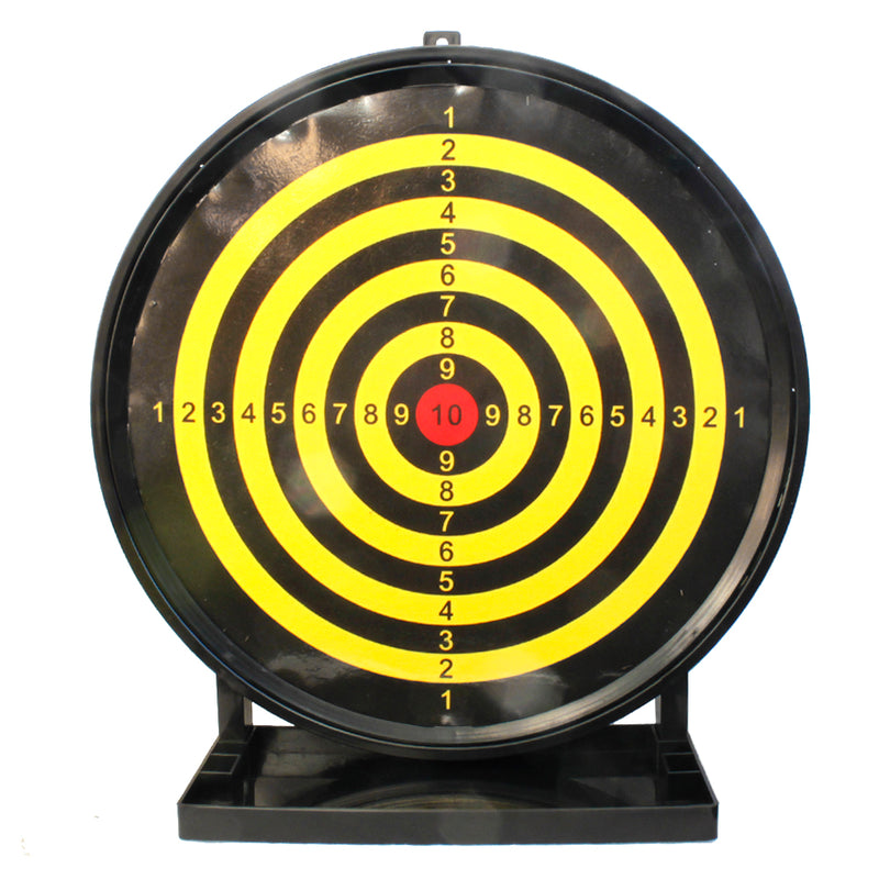 "Large 12"" Round Sticky Shooting Target for Spring Power and LPEG Airsoft Guns"