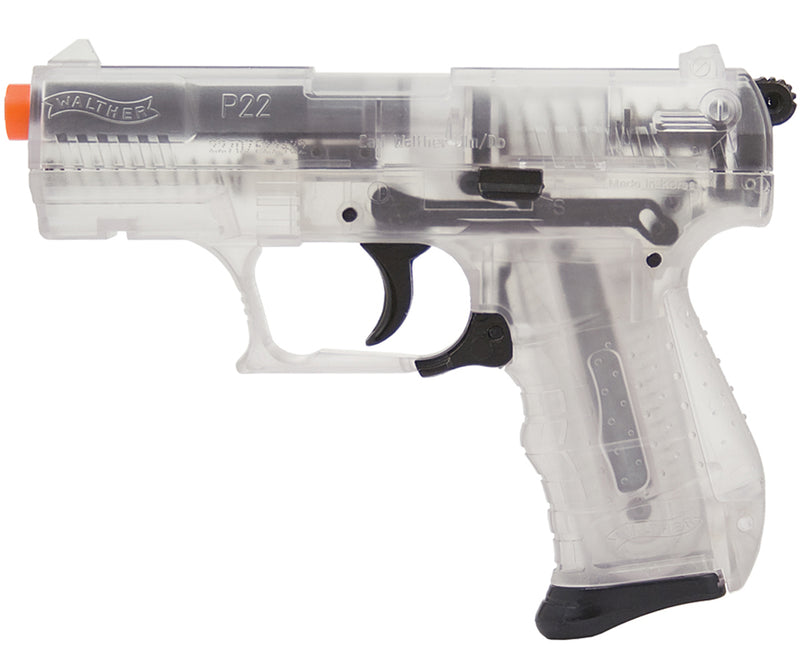 Umarex Walther Special Operations P22 Airsoft Spring Pistol - Clear