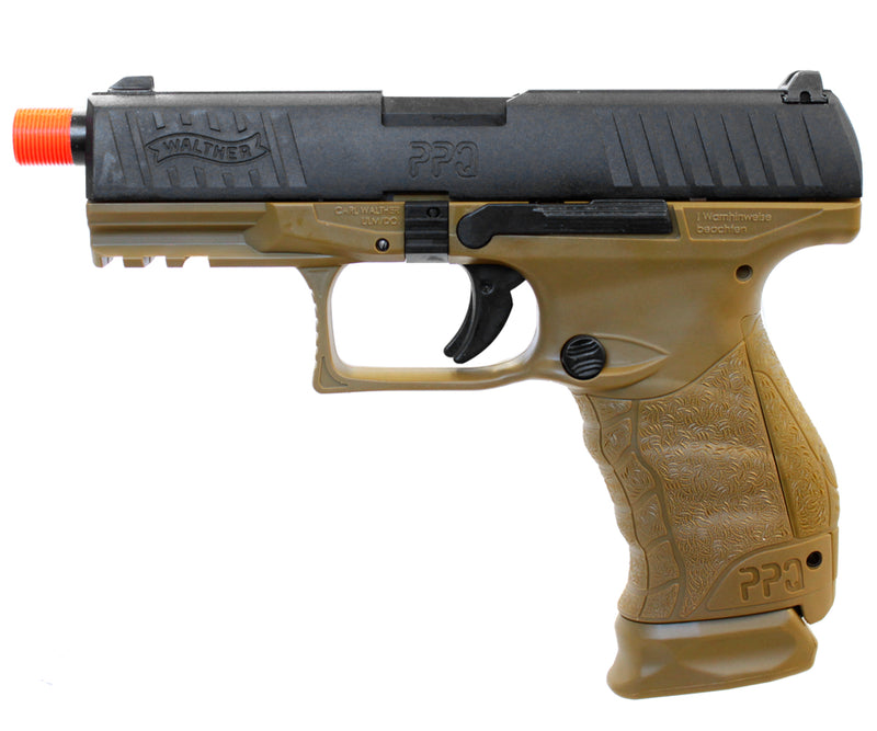Umarex Walther PPQ Tactical SD NAVY Gas Blowback Airsoft Pistol by VFC