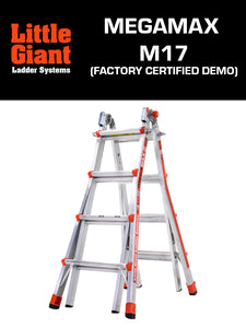 LITTLE GIANT MEGAMAX  M17 (Certified Factory Demo)