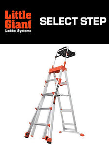 LITTLE GIANT SELECT STEP w/Airdeck Included