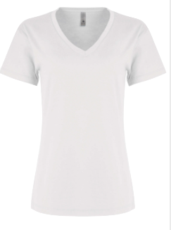 WOMENS RELAXED VEE NECK TEE <BR/>MORE COLORS AVAILABLE