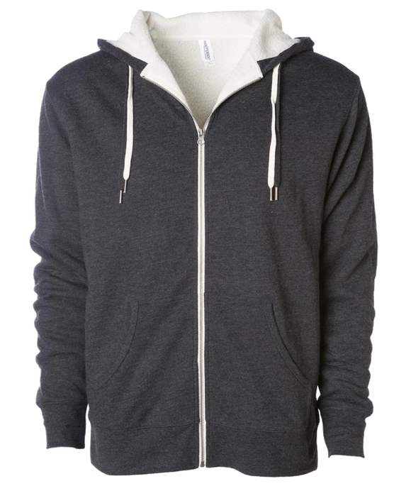 ADULT UNISEX HEAVYWIEGHT SHERPA LINED SWEATSHIRT<BR/>MORE COLORS AVAILABLE