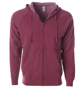 ADULT UNISEX SPECIAL BLEND ZIP HOOD<BR/>MORE COLORS AVAILABLE