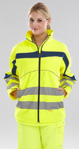 Hi-Vis Eaton Soft Shell Jacket # ET40