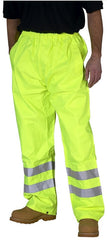 Hi Vis Weatherproof Traffic Trousers EN471 # TEN