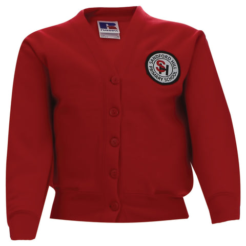 Sandford Hill Primary Sweatshirt Cardigan #SHSCARDIGAN