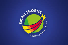 Smallthorne Primary V-Neck Sweatshirt Complete With Logo #STSWEAT