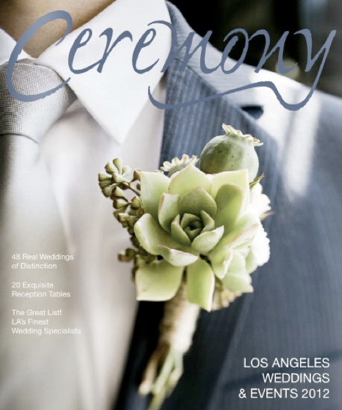 PRESS FEATURE // CEREMONY MAGAZINE // SPRING 2012