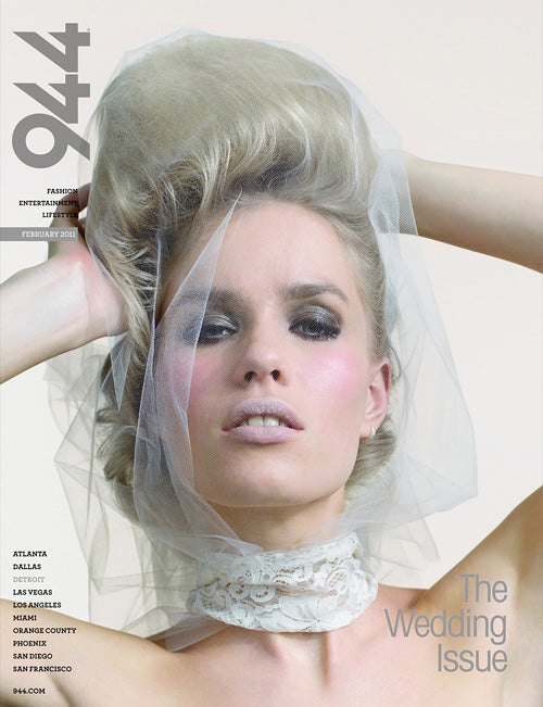 PRESS FEATURE // 944 WEDDINGS MAGAZINE // SPRING 2011