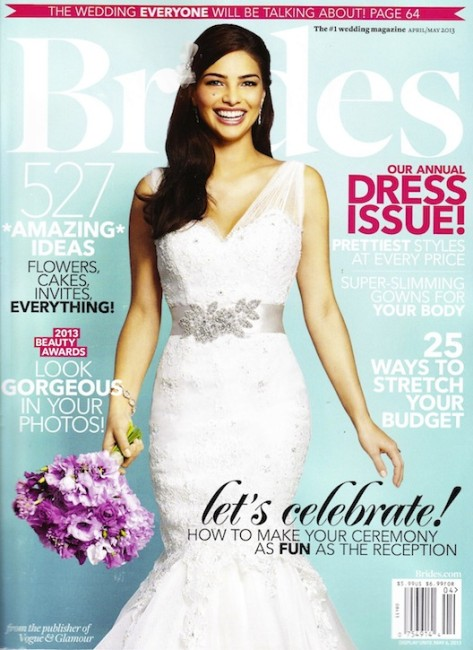 PRESS FEATURE // BRIDES MAGAZINE // SPRING 2013