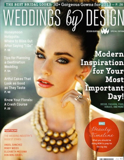 PRESS FEATURE // WEDDINGS BY DESIGN