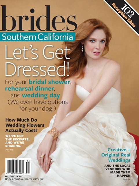 PRESS FEATURE // BRIDES, SOUTHERN CALIFORNIA // FALL-WINTER 2011