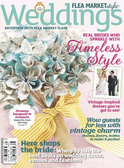 PRESS FEATURE // FLEA MARKET STYLE WEDDINGS