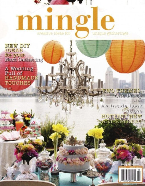 PRESS FEATURE // MINGLE MAGAZINE // SPRING 2013