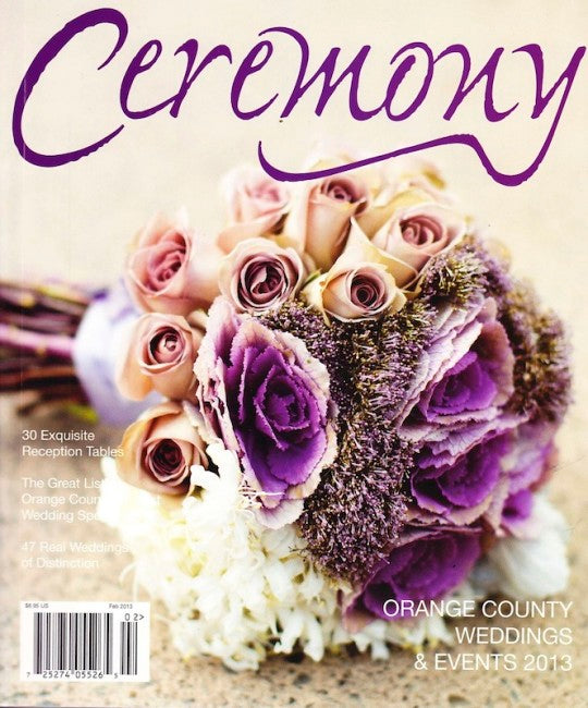 PRESS FEATURE // CEREMONY MAGAZINE OC // SPRING 2013